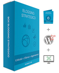 Corso Avanzato Blogging Strategico