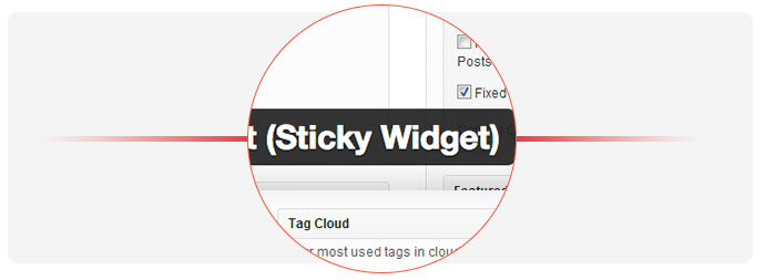Sticky-Widget-Wordpress