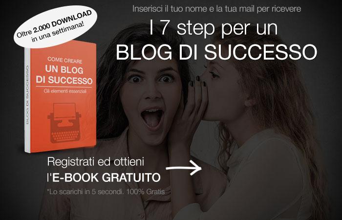 Ebook cerare blog di successo