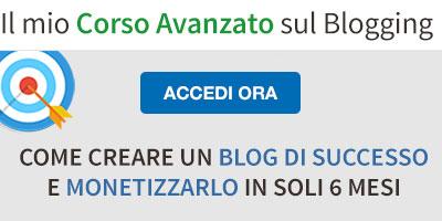 Corso Avanzato Creare un Blog